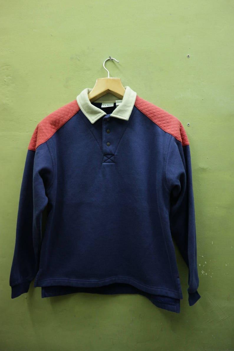 7c34cdae Vintage LL Bean Long Sleeve Shirt Sports Wear Street Wear | Etsy