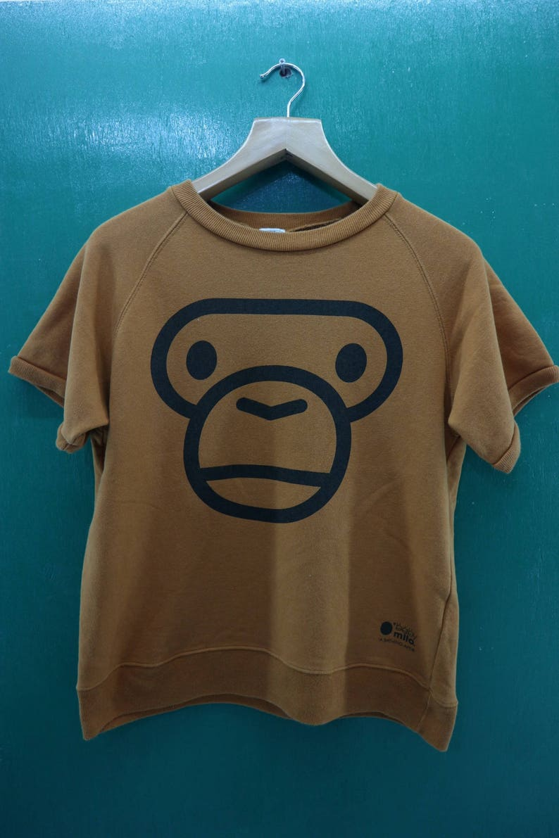 b7243cf73 Vintage Baby Milo A Bathing Ape Shirt Big Logo Skate Wear Hip | Etsy