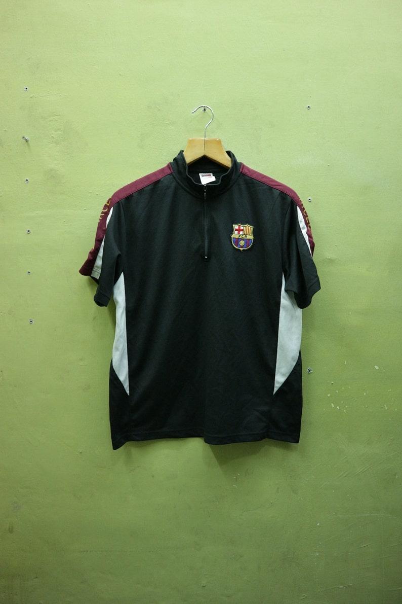 61a0e0cf0a8 Vintage FC Barcelona Club Jersey Football Sportswear | Etsy