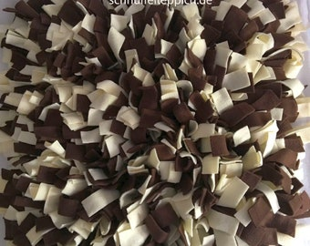 SNIFFY der Schnüffelteppich Leckerli Suchspiel, Schnüffeldecke, Training Intelligenzspiel zur Nasenarbeit Schnüffelwiese