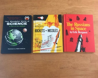 Items similar to Vintage Science Books- Chemistry