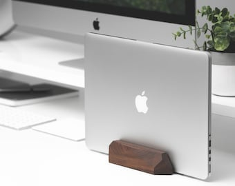 Docking Station MacBook Pro Air, Laptop MacBook Notebook Dock Stand, Storage Tech Gift for Him, Apple MacBook Pro Air, Office Desk Accessory