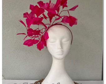 Various colours feather garland headband fascinator *FREE EXPRESS POST*