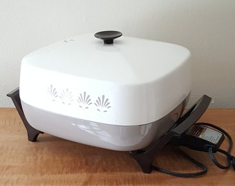 Immersible Large Electric Fry Pan