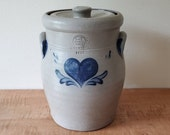 Vintage Rowe Pottery Works Canister