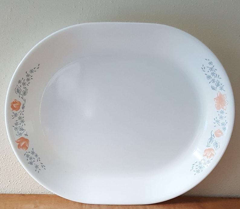 Corelle Apricot Grove Corelle Dinnerware 22 Piece Set for 4~Free Shipping