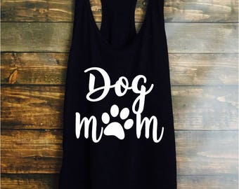 006cd9eb178 Dog mom tank top - dog mom shirt - mothers day gift - gift for mom - dog  lover tank top - workout top - womens workout tank - workout shirt