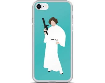 Princess Leia iPhone Case