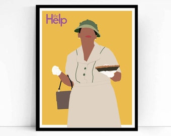 The Help Movie Poster Print- Minny with Pie