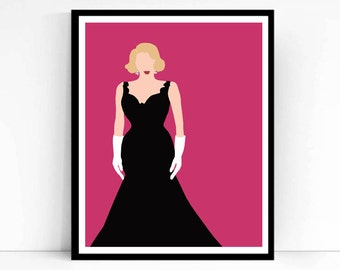 Betty Haynes, White Christmas Poster Print, Love You Didn't Do Right By Me