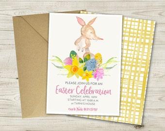 Aussie Easter Invitation