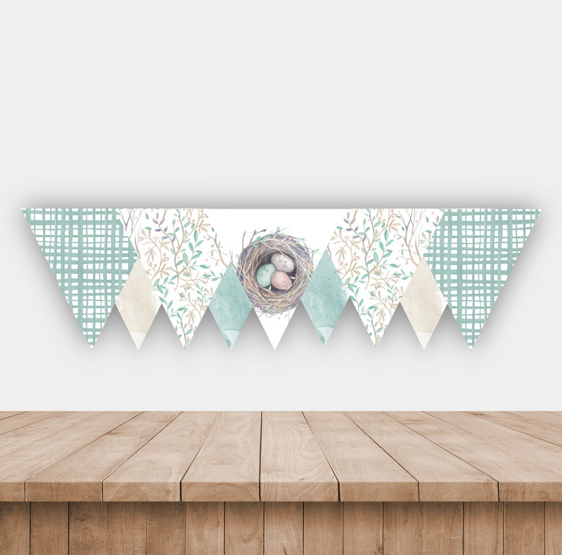 image regarding Printable Baby Nest Pattern known as Refreshing Nest Child Shower Bunting