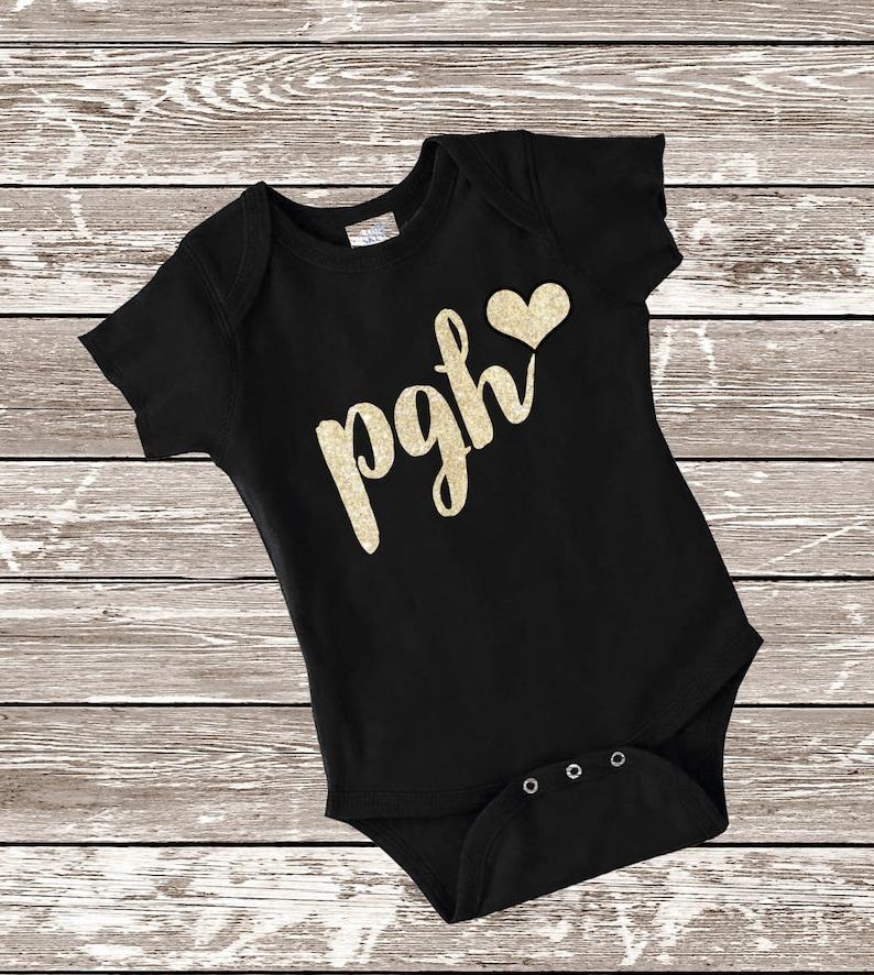 finest selection 88cbf 70a19 Pittsburgh Bodysuit. Steelers Bodysuit. Baby Pittsburgh Shirt, Pirates  Bodysuit. Baby Steelers Shirt, Penguins Bodysuit.