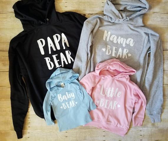Bear Mama Papa Family Shirts Hoodies Hoodies Family Bear Bear Baby Bear I1EXWq