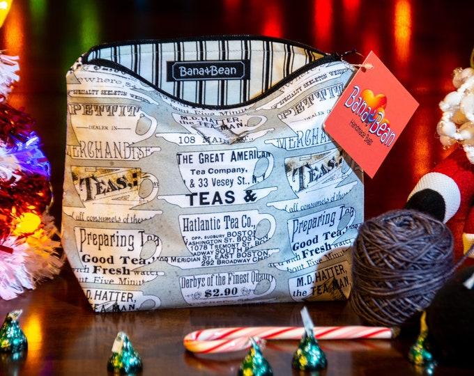 Zipper Bag - Tea Time