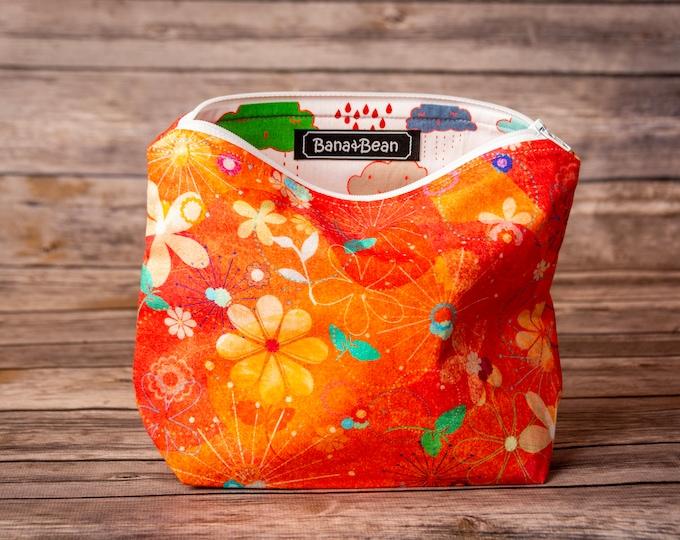 Zippered Bag - Summer Showers