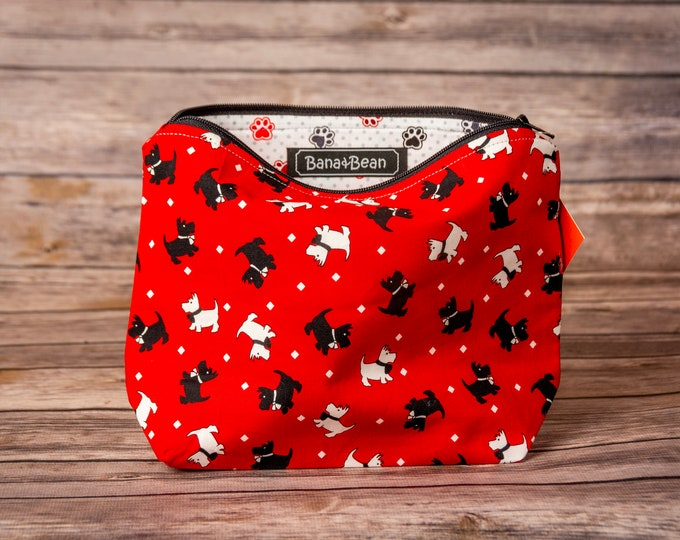 Zippered Bag - Scottie Dog