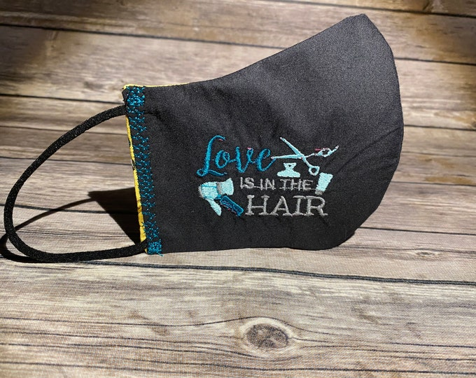 Custom Embroidery Reversible Face Mask - Made to Order