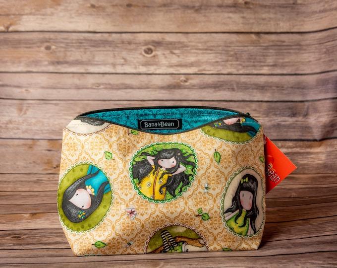 Zippered Bag - Summer Birdhouses