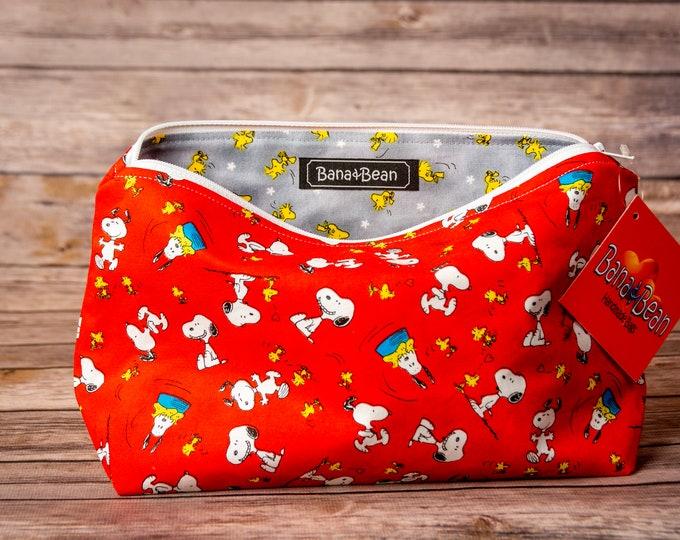 Zippered Bag - Peanuts