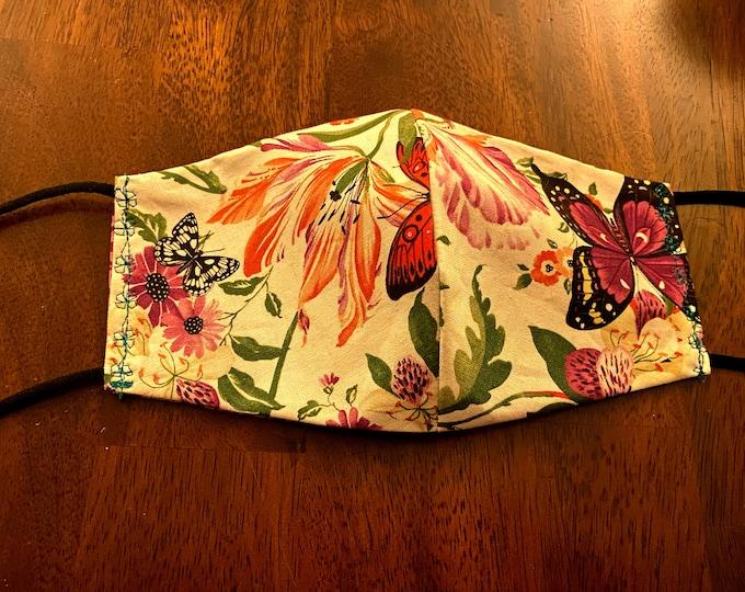 Reversible Face Mask w/ Matching Bag