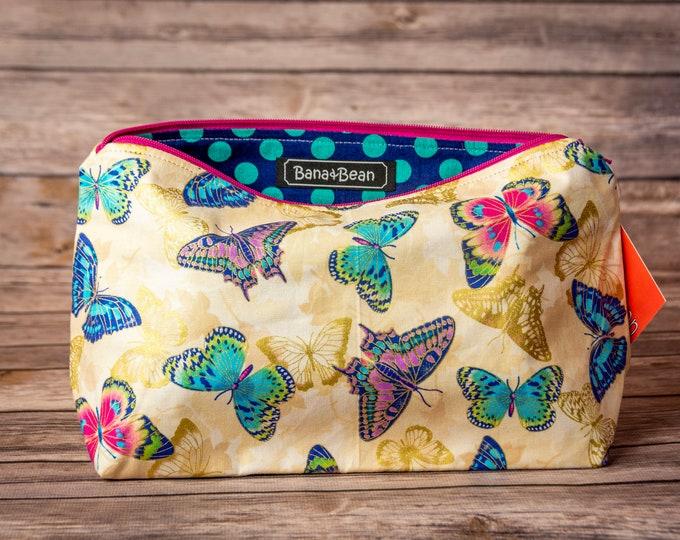 Zippered Bag - Summer Butterflies