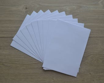 White envelopes ~ 10 pack