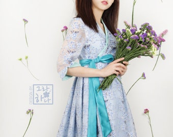 Cherryblossom cheollik dress