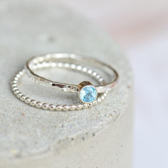 Jewelry Sterling Silver Band Topaz London Blue Topaz-December Birthstone Ring Women\u2019s Ring