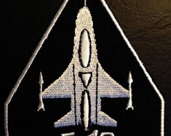 6.7 x 8.5 cm rot F5 Army Luftwaffe Flieger Aufnäher // Bügelbild