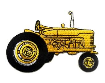 M A N Patch Traktor Oldtimer Bulldog Bügelbild grün Aufnäher
