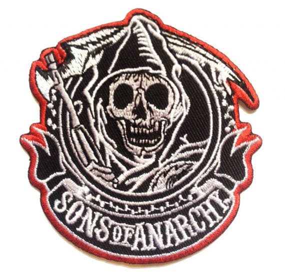 Motorcycles Save My Life,Aufnäher,Patch,Aufbügler,Biker,Iron On,Badge,Black