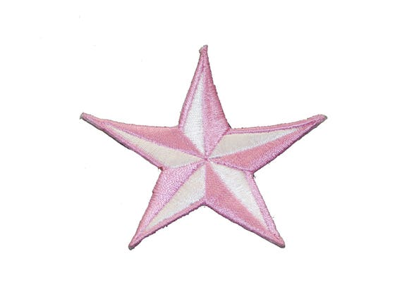 7,5x7,5cm colorful Iron on patches Application Embroided badges Star