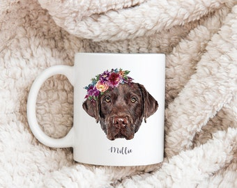 Dog Mug Personalized, Dog Dad Gift, Pet Custom Mug, Portrait Mug, Dog Mum Mug, Dog Dad Mug, Dog Portrait, Pet Lovers Gift