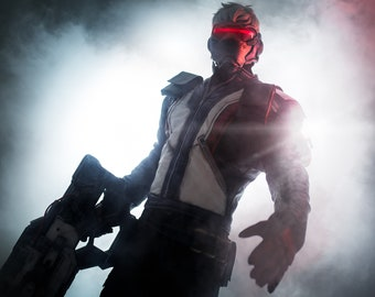 451fc58ab Soldier 76 Cosplay Jacket (Overwatch)
