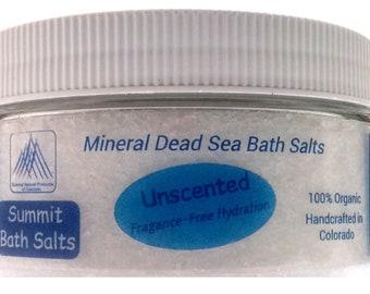 Unscented Bath Salts (8oz)