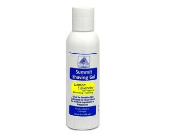 Aromatherapy Shaving Gel - Lemon-Lavender 3 oz