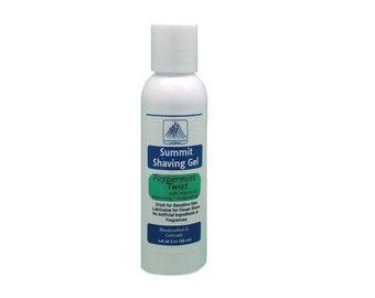 Aromatherapy Shaving Gel - Peppermint Twist 3 oz