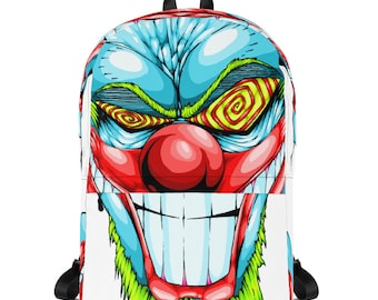 Crazy Clown Backpack