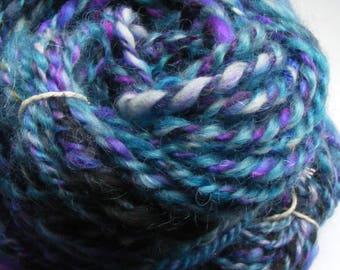 Handspun yarn chunky wool art yarn 100g 50m