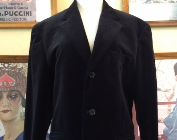 Awesome Black Velvet Alfani from Macy's Store  Jacket,Size 40.
