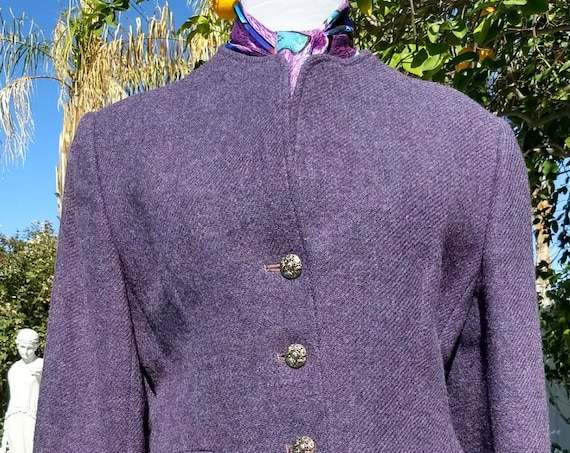 Vintage Evan-Picone 100% Virgin Wool Jacket