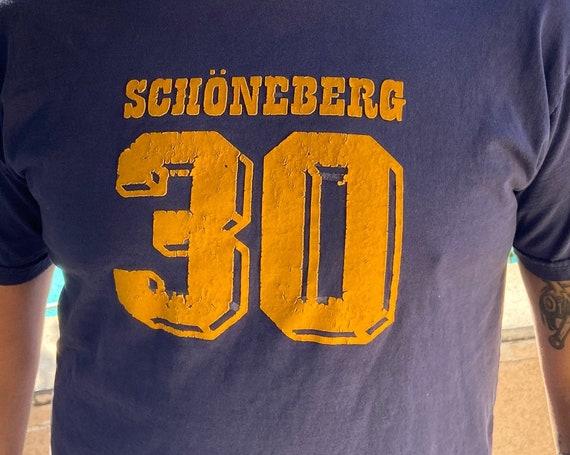 Vintage 1980s Schoneberg 30 Tee T-Shirt Sz M