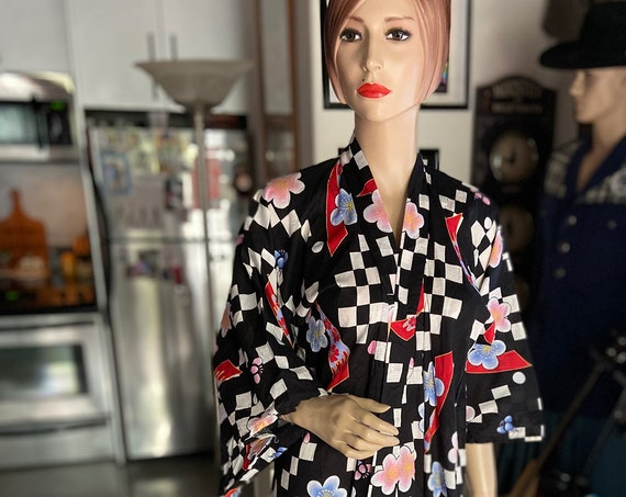 Totally Awesome 80s Print Kimono