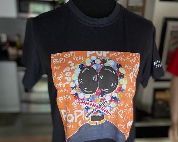 Funky Pop Art Tee T-Shirt Size Small