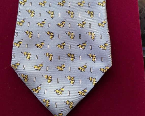 Vintage 1990s Nino Lazzarini Made in Italy Silk Tie