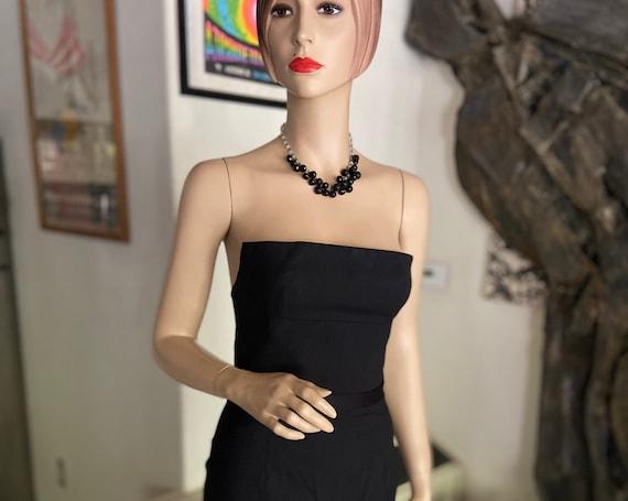 Sexy BodyCon Diane Von Furstenberg Little Black Dress Size 4