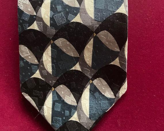 Vintage 1990s Silk Tie from Ziggurat Mulberry Neckwear