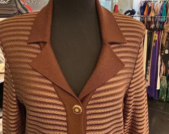 Beautiful Silk Knit 1980s St. John Tunic/Dress