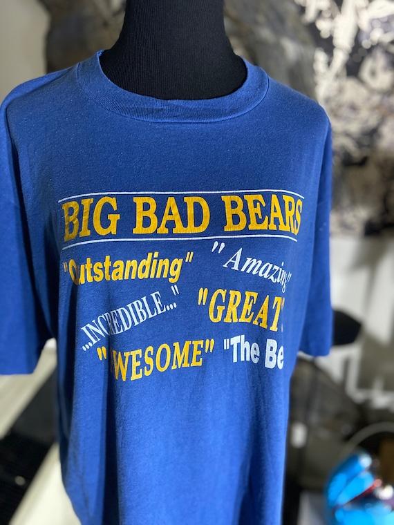 Awesome 1990s Big Bad Bears Tee T-Shirt